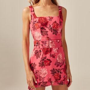 C/MEO Collective VARIATION MINI DRESS Pink Rose